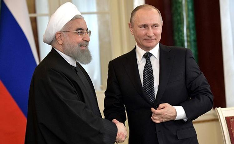 Путин обсудил с президентом Ирана действия в Сирии