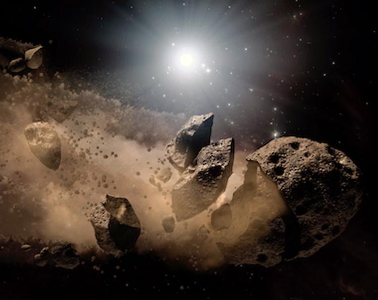 Названы чудовищные последствия падения астероида на Москву