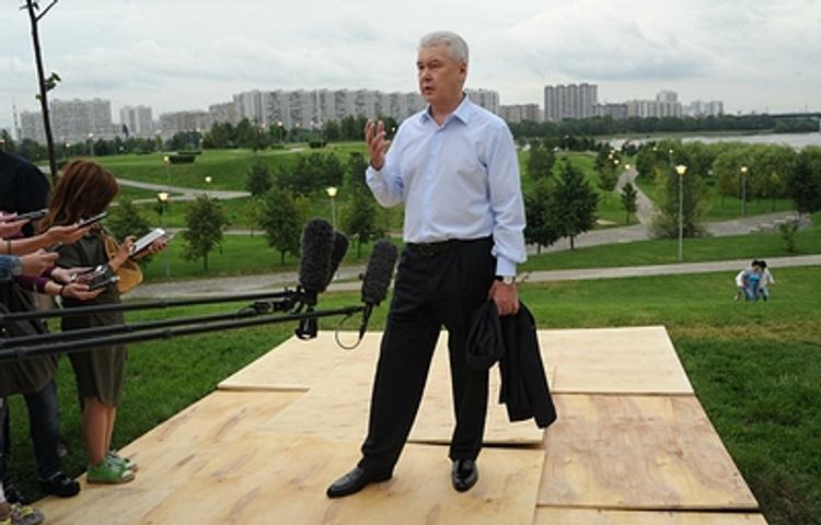 Собянин: В Москве жилья на одного человека меньше, чем даже в Токио