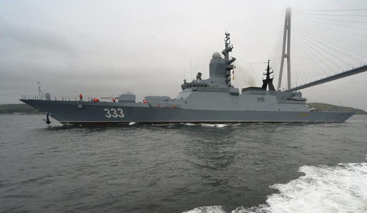 """Тихоокеанский флот пополнился корветом """"Совершенный"""", который строили 11 лет"""