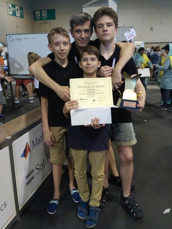 Екатеринбуржцы взяли III место на чемпионате мира по робототехнике