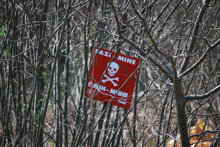 ДНР: украинские диверсанты подорвались на своих же минах