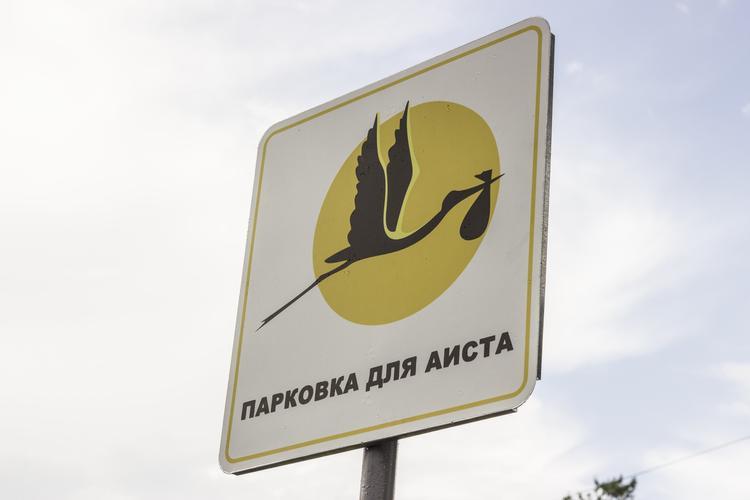 У екатеринбургских роддомов появились новые знаки