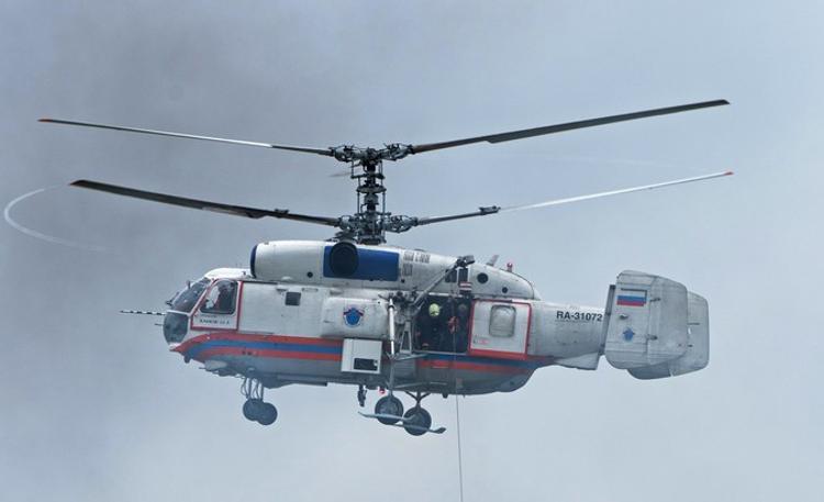 В Новой Москве мужчину, придавленного кладбищенской плитой, спасали вертолетом