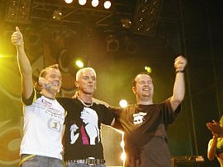 Музыканты группы Scooter  пообещали крымчанам  вернуться