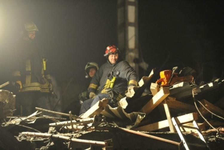 В Твери рухнуло здание речного вокзала (ВИДЕО)