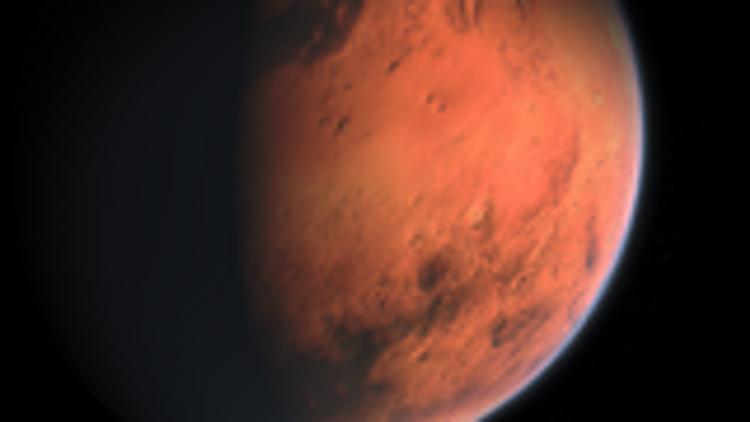 Древние руины города обнаружили уфологи на Марсе