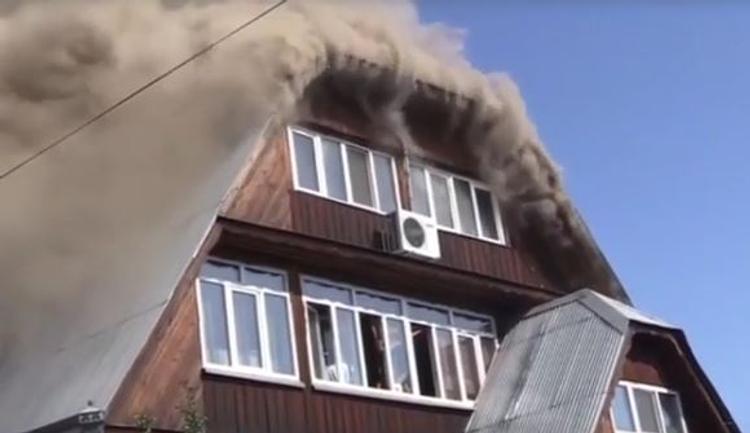 В Красноярске задержали владелицу сгоревшего дома престарелых