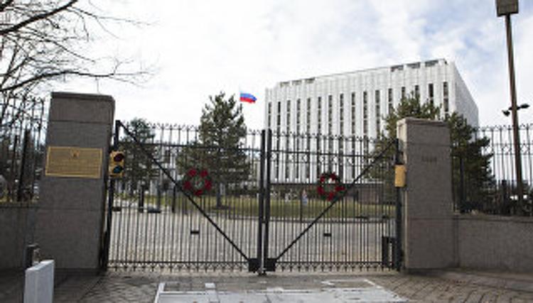 Обыски идут  в торгпредстве России  в Вашингтоне в США