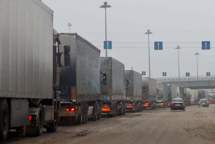 В Австрии после погони задержали пьяного дальнобойщика из России