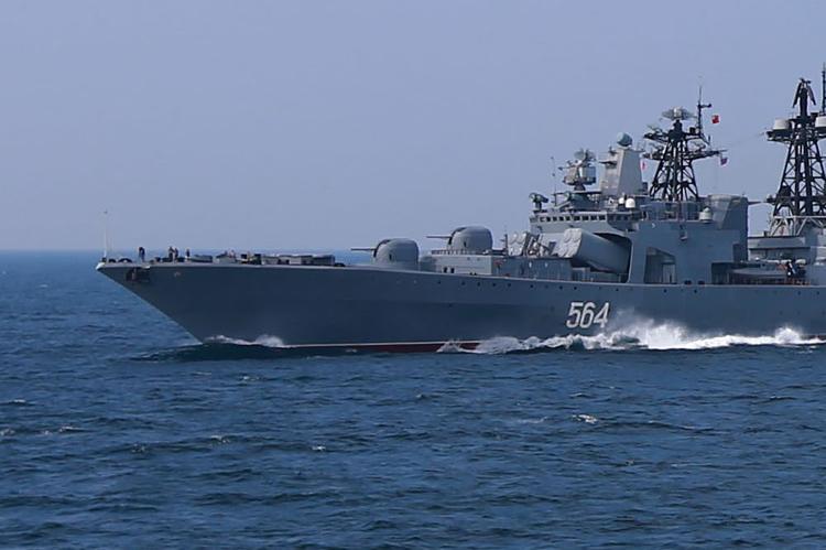 Российские корабли успешно отстрелялись на Балтике