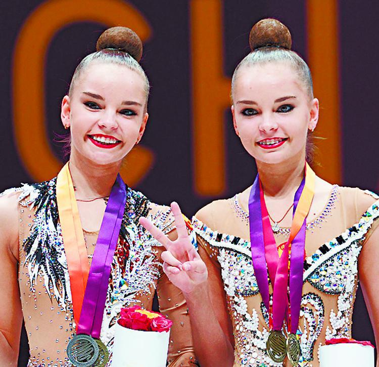 Арина и Диана Аверина: близняшки на пьедестале