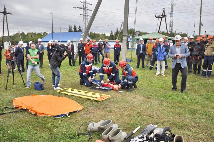 Работники филиала «Челябэнерго» победили в состязаниях