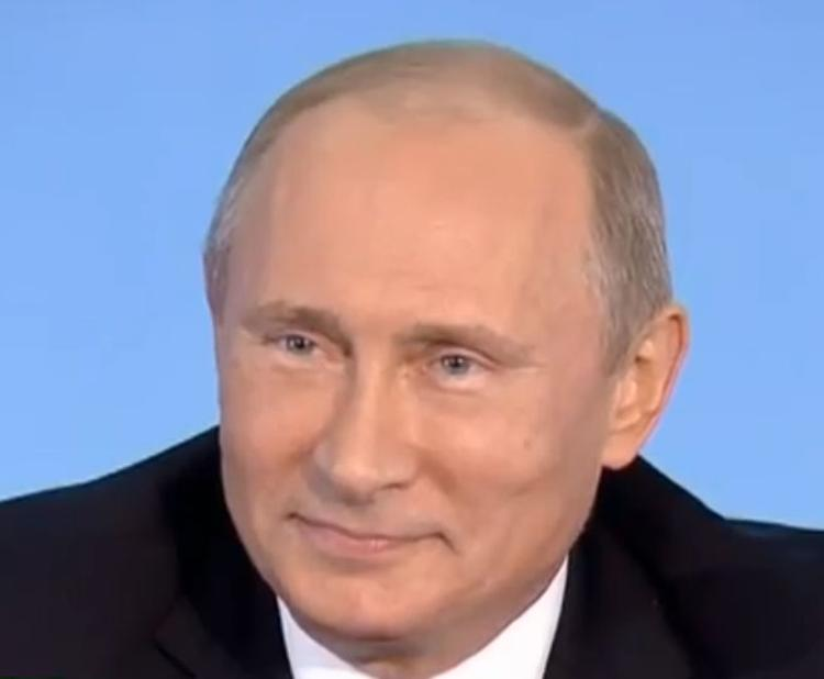 Владимир Путин поздравил москвичей с Днем города