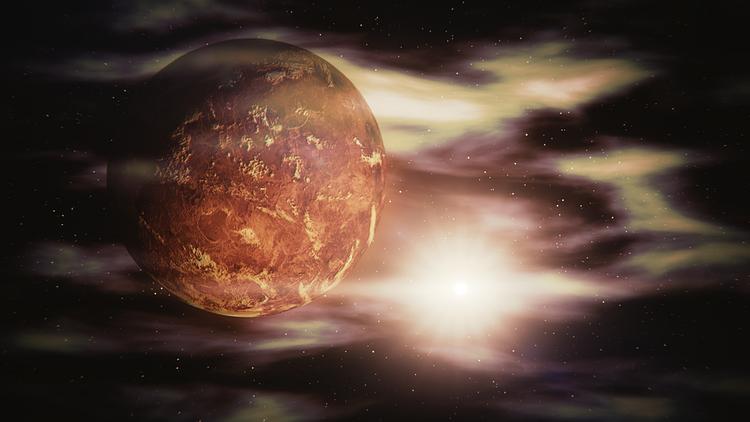 Венера и Земля могут столкнуться из-за вспышек на Солнце