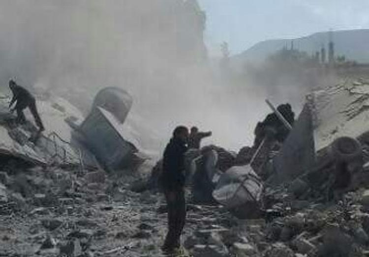 Сирийской армии удалось прорвать блокаду авиабазы в Дейр-эз-Зоре