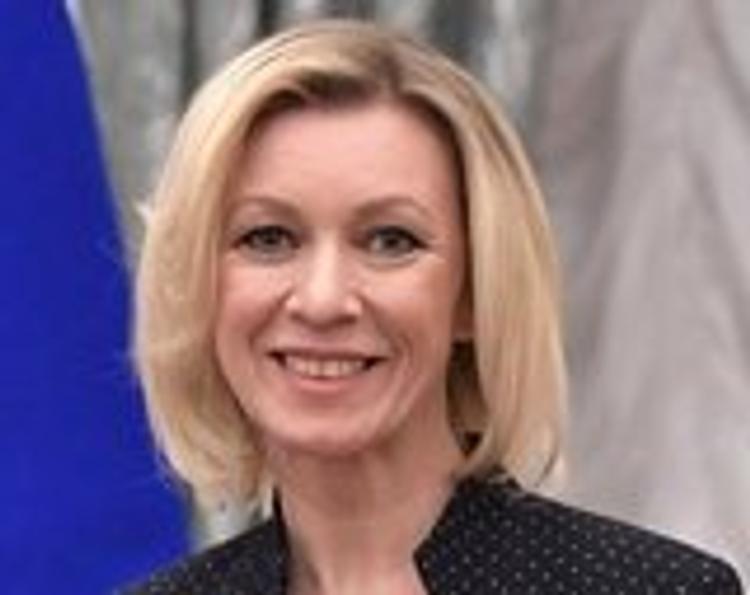 Захарова иронично ответила на слова Меркель о Крыме