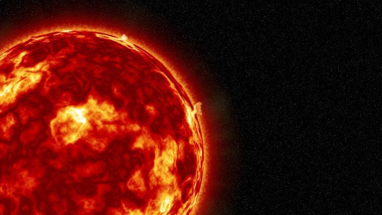 Мощная вспышка на Солнце создала радиационный фон на МКС