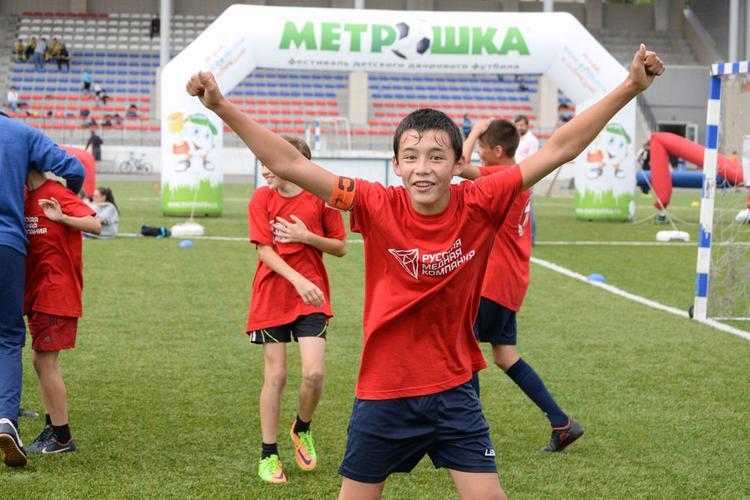 В Челябинске состоится суперфинал фестиваля дворового футбола