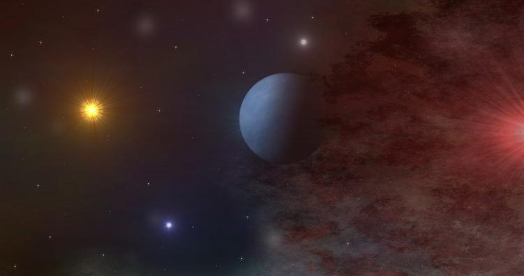 Обнаружена экзопланета со светящейся водой