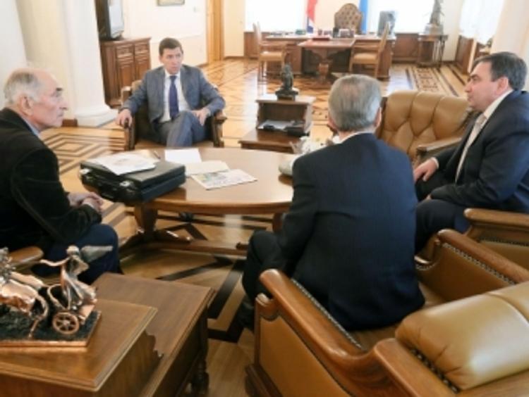 По просьбе ветеранов свердловское правительство построит газопровод