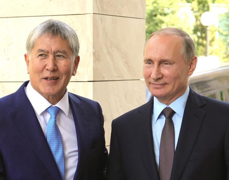 Путин направил президенту Киргизии поздравление с днем рождения