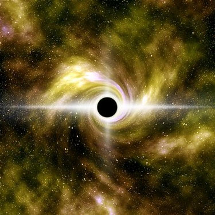 NASA: Из черной дыры внезапно появился неизвестный объект
