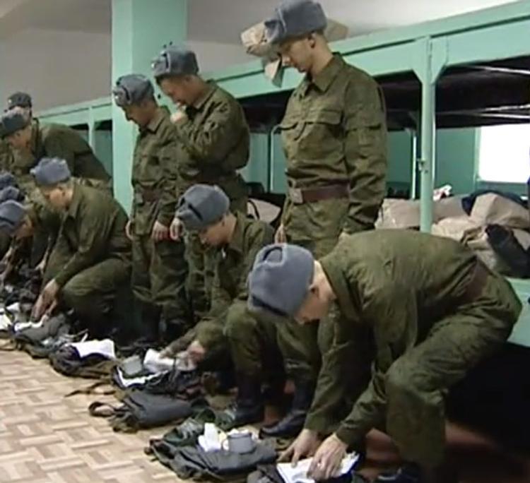 Украина потребовала от России отменить военный призыв в Крыму
