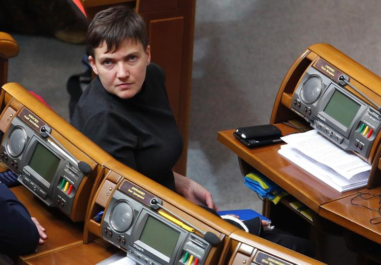 Заступившуюся за жителей Донбасса Савченко отчитали в Раде