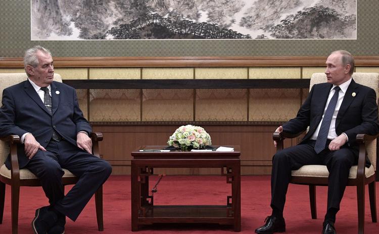 Милош Земан считает двойными стандартами отношение к Крыму и Косово