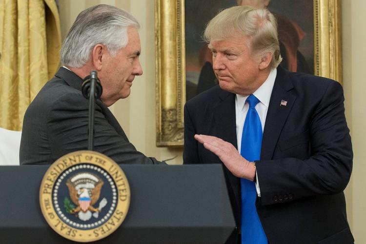 Стали известны причины конфликта Трампа и Тиллерсона