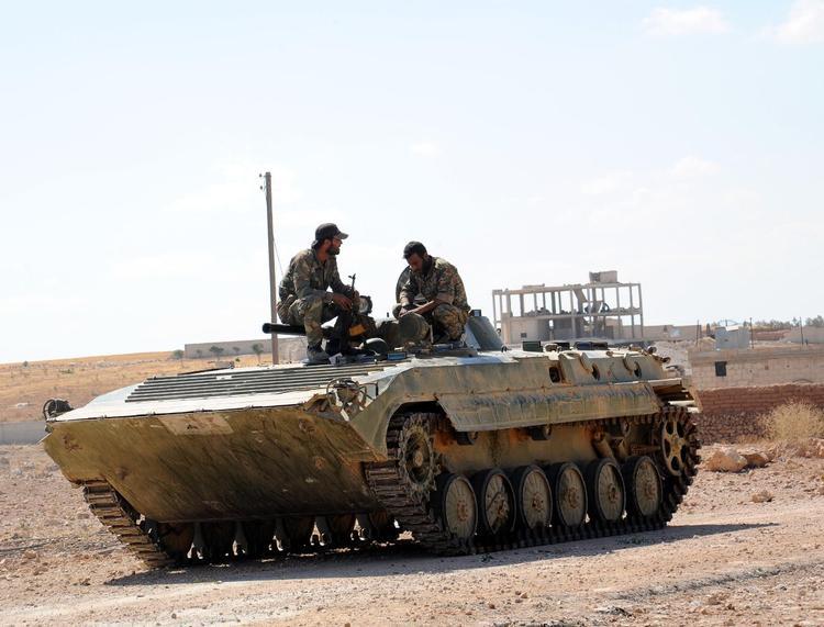 Сирийская армия взяла в кольцо один из последних оплотов ИГ