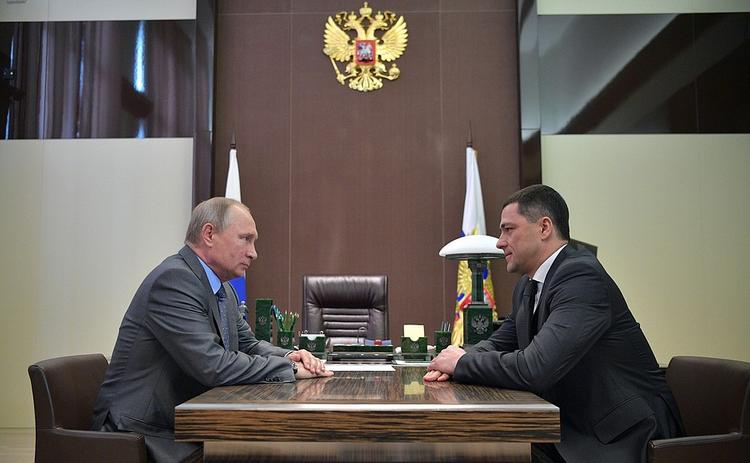 Врио губернатора Псковской области назначен 42-летний Михаил Ведерников