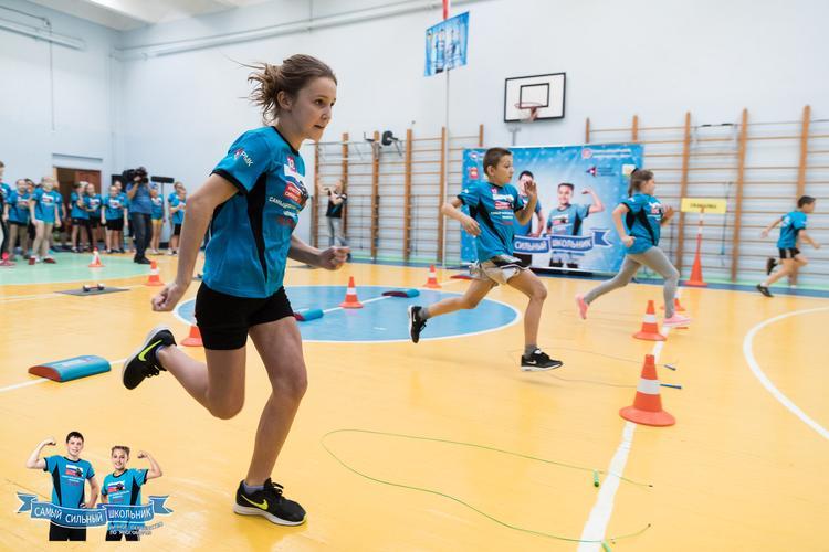 На Южном Урале стартовал третий сезон соревнований «Самый сильный школьник»