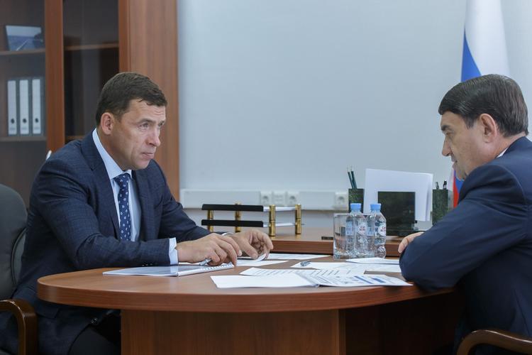 Свердловский губернатор получил благодарность от помощника президента РФ