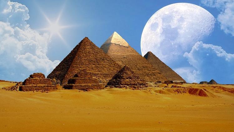 Возле пирамиды Хеопса найдены объекты, похожие на гигантские письмена пришельцев