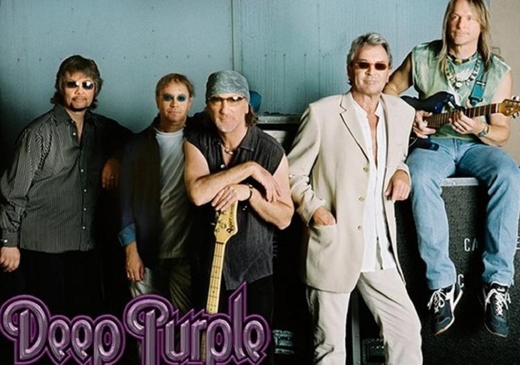 Группа Deep Purple отметит 50-летие двумя концертами в России