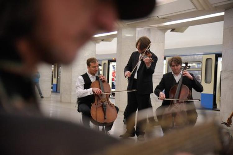 """Концерты проекта """"Музыка в метро"""" пройдут на трех станциях МЦК 4 ноября"""