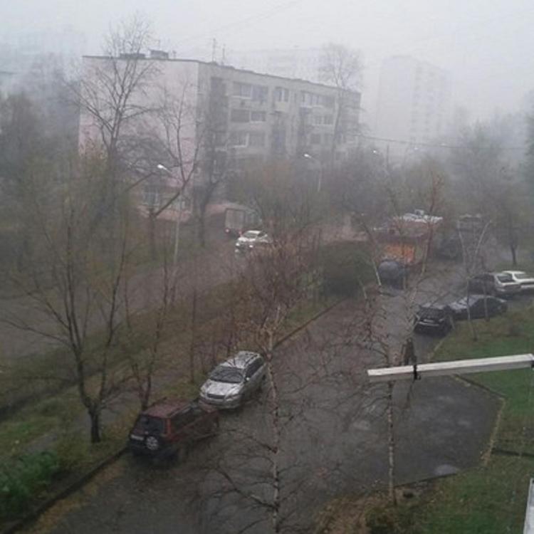 Хабаровск заволокло дымом из Китая