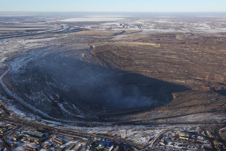 Пожары в Коркинском разрезе будут тушить горноспасатели