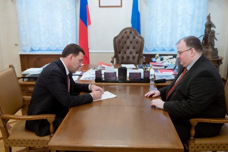 На Среднем Урале - новый министр здравоохранения