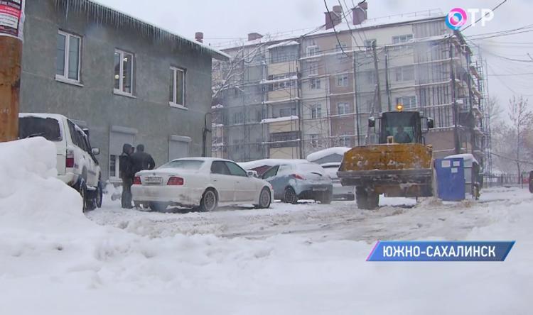 В Южно-Сахалинске утвержден список бесплатных парковок на время непогоды