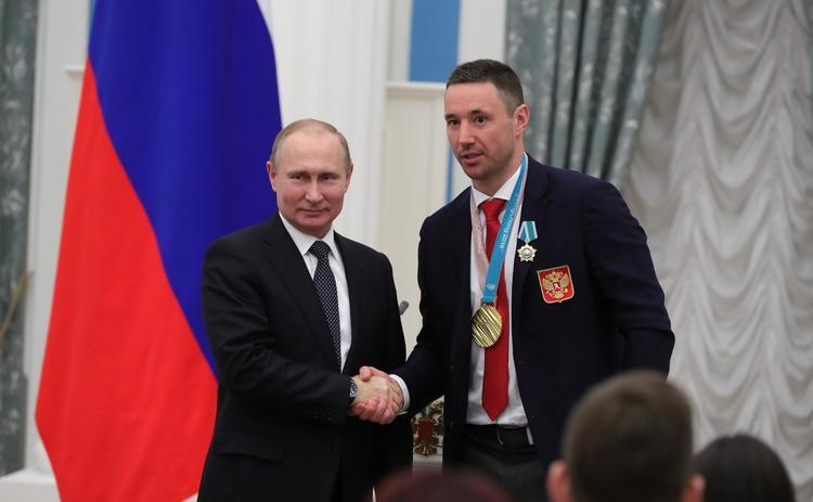 Илья Ковальчук сменил имидж для приема в Кремле