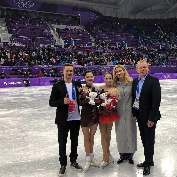 Этери Тутберидзе рассказала об отношении к российским спортсменам на ОИ