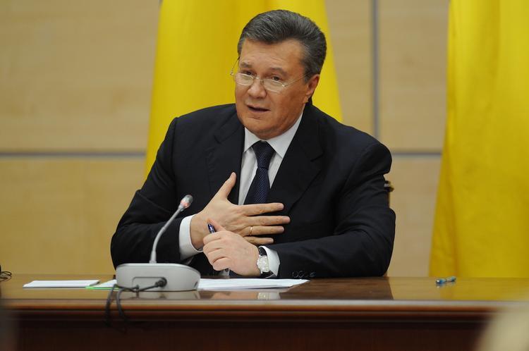 Обнародовано обращение Януковича к Путину, сделанное в марте 2014 года