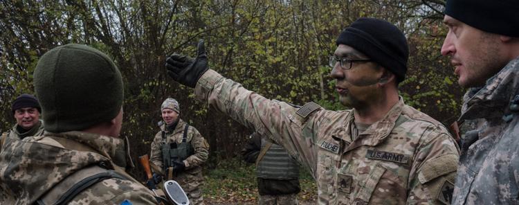 СМИ узнали о секретном полигоне, где  инструкторы из США учат украинских военных