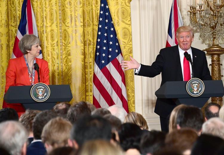 Трамп и Мэй жестко отозвались о словах Путина насчет новейшего оружия