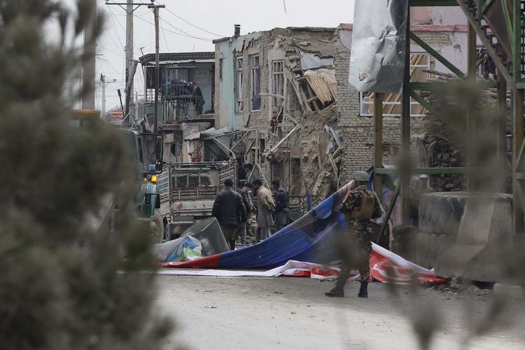 У мечети в Кабуле прогремел взрыв, девять погибших