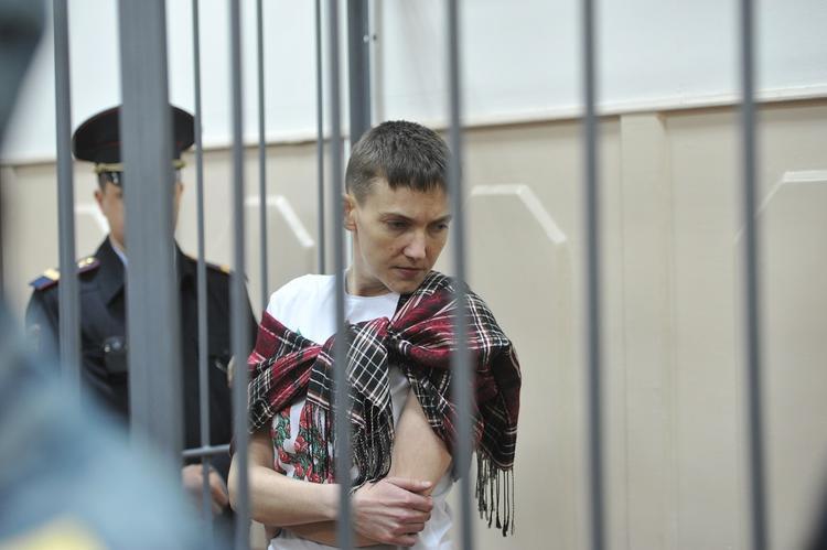 Суд арестовал Надежду Савченко
