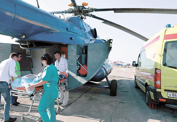 Доктор в полёте